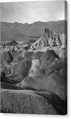 Zabriskie Point Portrait Canvas Print