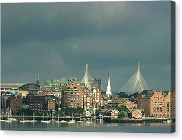 Zakim Bunker Hill Bridge Canvas Print