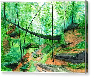 Zaleski Canvas Print