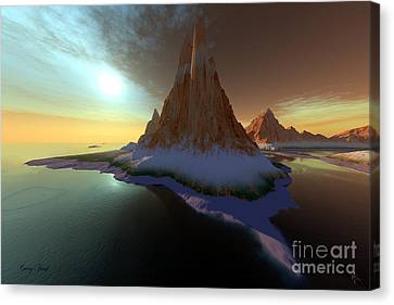 Zanadoo Canvas Print by Corey Ford