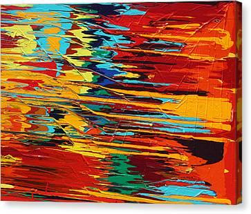 Zap Canvas Print by Ralph White