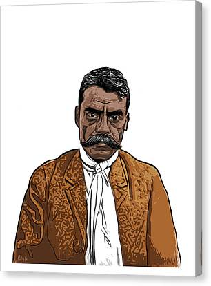 Zapata Canvas Print by Antonio Romero