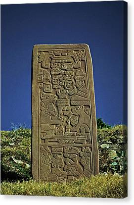 Zapotec History Canvas Print by Juergen Weiss