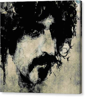 Zappa Canvas Print by Paul Lovering