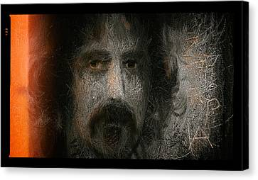 Zappa-the Deathless Horsie Canvas Print by Michael Cleere