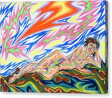 Zapped Canvas Print by Robert SORENSEN