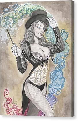 Zatanna Zatara Canvas Print