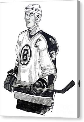 Zdeno Chara Canvas Print by Dave Olsen