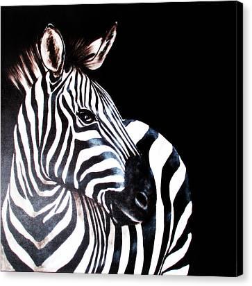 Zebra 2 Canvas Print
