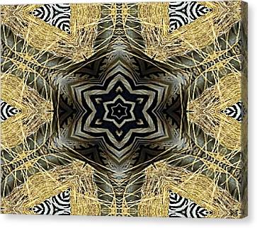 Zebra Vi Canvas Print by Maria Watt