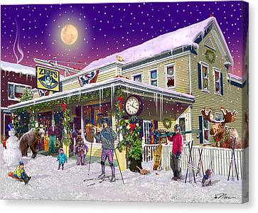 Zebs General Store In North Conway New Hampshire Canvas Print