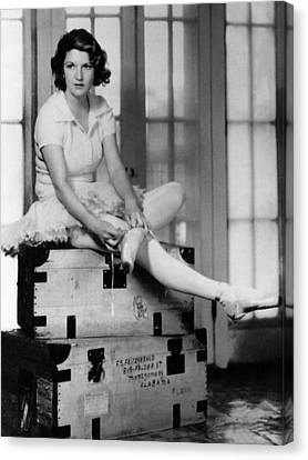 Zelda Fitgerald, 1931 Canvas Print by Everett