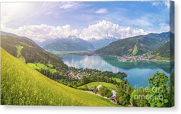 Zell Am See - Alpine Beauty Canvas Print by JR Photography