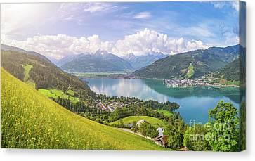 Zell Am See - Alpine Beauty Canvas Print