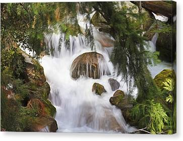 Canon 7d Canvas Print - Zen At Yosemite by Donna Kennedy