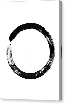 Zen Circle Canvas Print