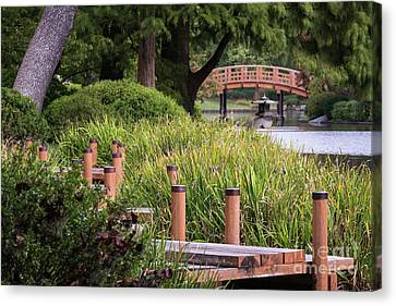 Canvas Print featuring the photograph Zen Garden by Andrea Silies