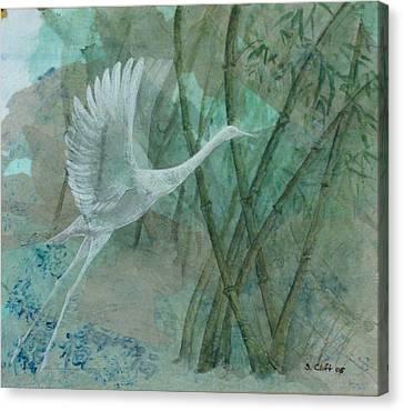 Zen Morning Canvas Print by Sandy Clift