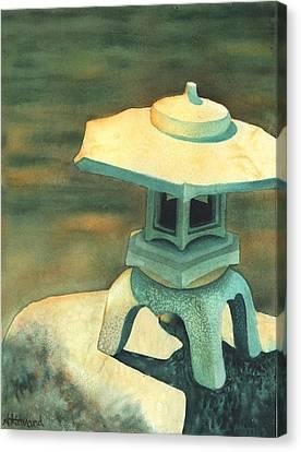 Zen Of Light Canvas Print by Anne Havard