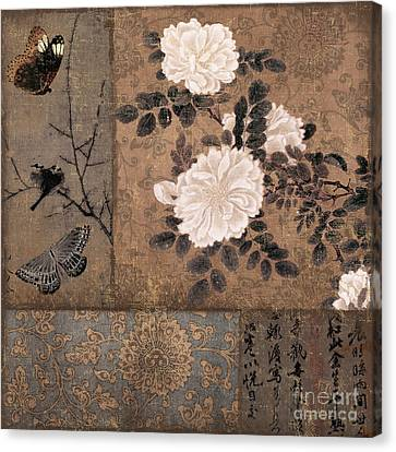 Zen Spice Canvas Print by Mindy Sommers