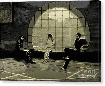 Meeting. Point Canvas Print - Zen Waiting Room by Lance Sheridan-Peel