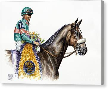 Zenyatta Canvas Print by Thomas Allen Pauly