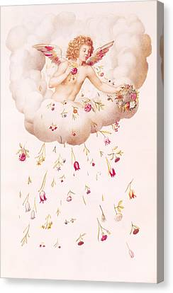 Zephyr Canvas Print by Nicolas Robert