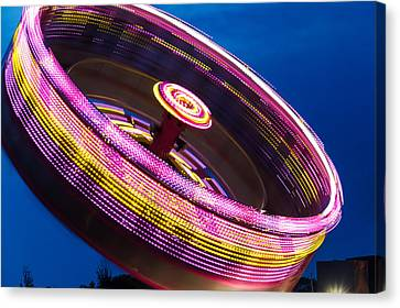 Farm Stand Canvas Print - Zero Gravity Spin by Steven Bateson