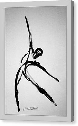 Zeta X6 Dancer Canvas Print