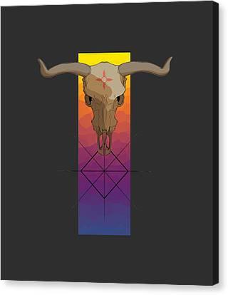 Canvas Print - Zia Symbol by James Dean