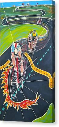 Ziel Canvas Print by V Boge