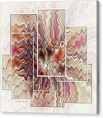 Zig And Zag Canvas Print