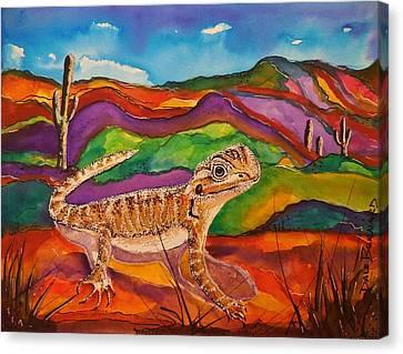 Ziggy Canvas Print by Dale Bernard