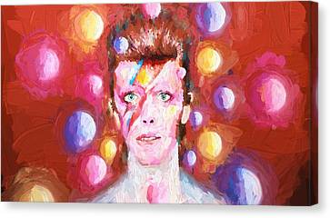 Ziggy Stardust  Canvas Print