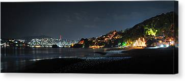 Zihuatanejo, Mexico Canvas Print by Jim Walls PhotoArtist