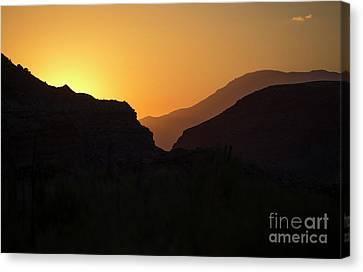 Zion National Park Canvas Print -  Zion Dawn by Diane Diederich