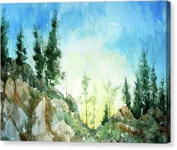 Zion Canvas Print by Stephen Boyle