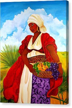 Zipporah Canvas Print by Diane Britton Dunham