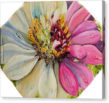 Zippy Zinnia Canvas Print