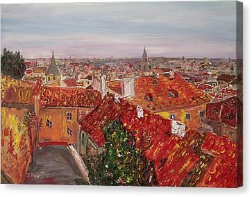 Oilon Canvas Print - Zlata Praha by Ivan Ribarchuk