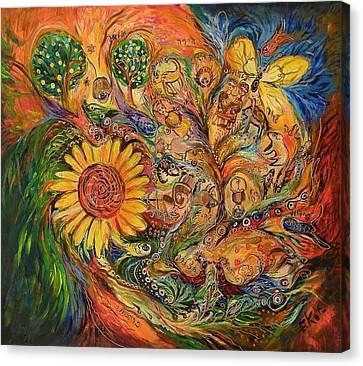 Zodiac Canvas Print by Elena Kotliarker