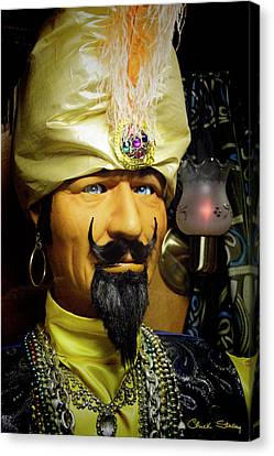 Canvas Print featuring the photograph Zoltar by Chuck Staley