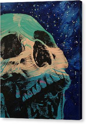 Zombie Stars Canvas Print by Michael Creese