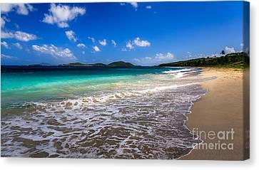 Zoni Beach Puerto Rico Canvas Print by Ernesto Ruiz