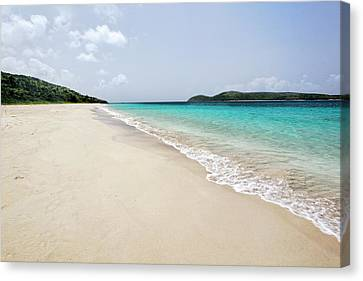 Zoni Beach Scenic Canvas Print by George Oze