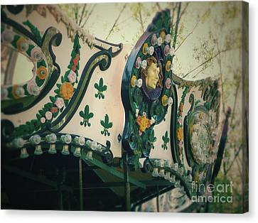 Zoo Carousel Ma Canvas Print