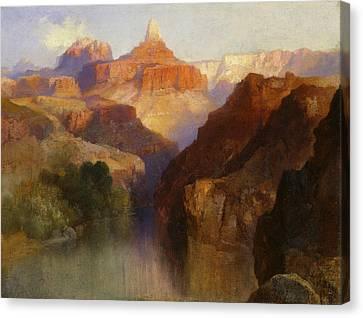 Moran Canvas Print - Zoroaster Peak by Thomas Moran