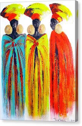 Zulu Ladies Canvas Print