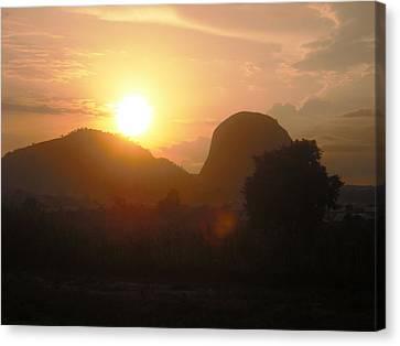 Zuma Rock, Abuja Nigeria Canvas Print by Bankole Abe