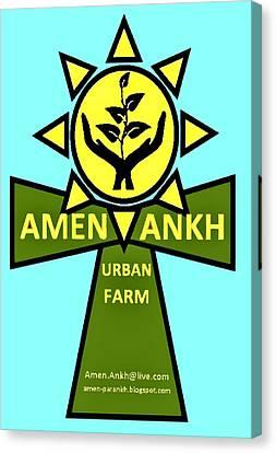 Amen Ankh Canvas Print